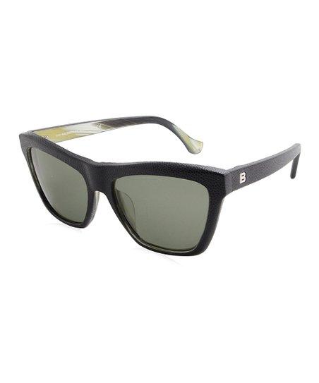 42575b6f6bf7c Sunglasses Zulily Gray Balenciaga Black Pebble Square amp  COFn6vxawq
