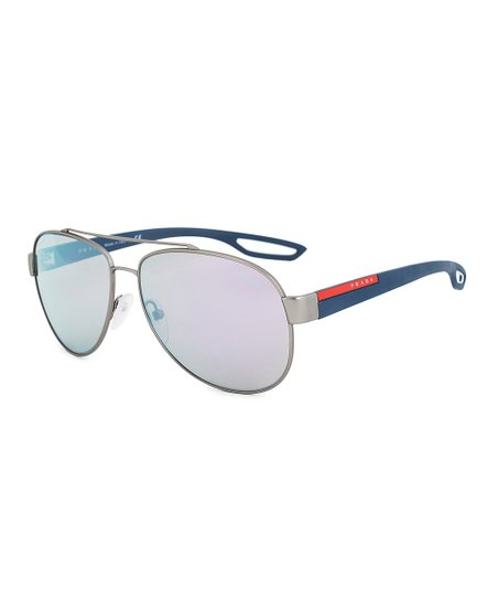 d120ed36f4c8a love this product Navy   Red Line Rossa Aviator Sunglasses