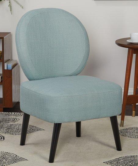 Phenomenal Bandwagon Inc Blue Dana Accent Chair Creativecarmelina Interior Chair Design Creativecarmelinacom