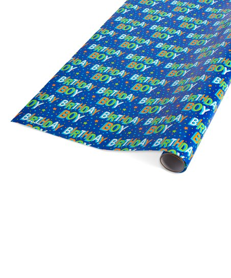 American Greetings Birthday Boy Wrapping Paper
