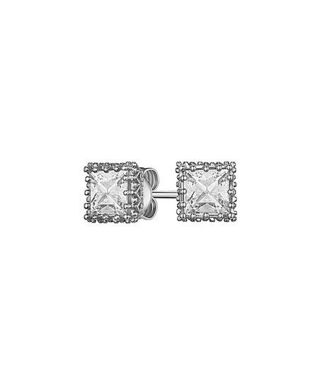47ed3784cd44 love this product Silvertone Halsey Stud Earrings With Swarovski® Crystals