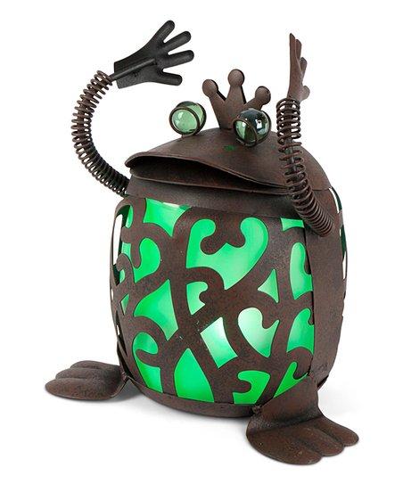 Green Solar Frog Prince
