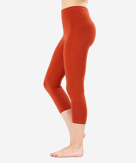 b4954856c38a31 love this product Copper Capri Leggings - Plus