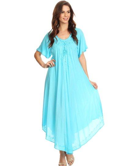 Turquoise Maxi Dresses