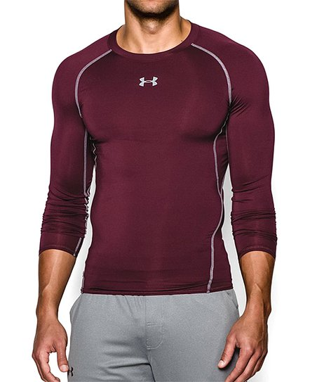 0f82bec3a love this product Red UA HeatGear® Armour Long-Sleeve Compression Top -  Men, Big & Tall