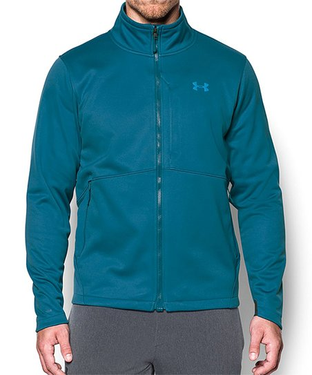 Under Armour Blue Ua Coldgear Infrared Softershell Jacket Men
