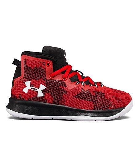 4773e30895b1 love this product Red Preschool Lightning 4 Basketball Shoe - Boys