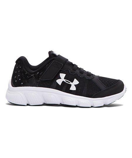 36c0c9e5f1 Under Armour® Black Preschool Assert 6 AC Running Shoe - Boys