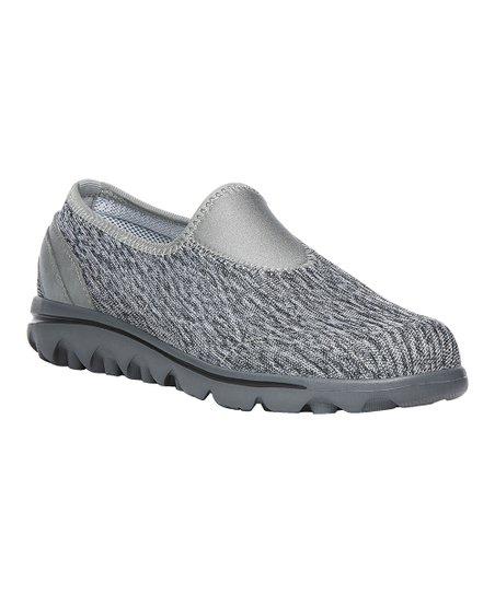 09ff19d650647 love this product Black   White Heather TravelActiv Slip-On Sneaker - Women