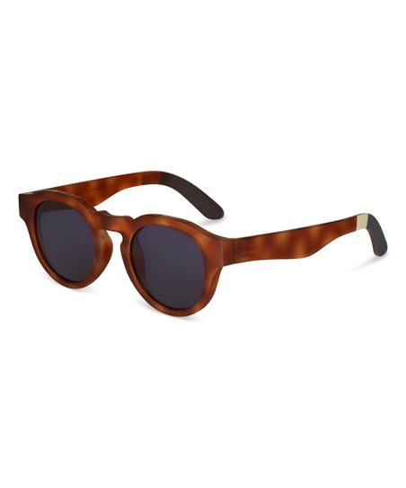 7bec4cbc36 love this product Matte Honey Tortoise & Indigo Bryton Sunglasses