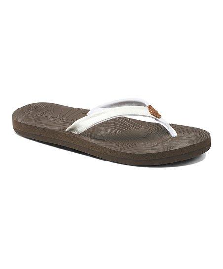 b0acabf623e47 love this product White Zen Love Flip-Flop - Women