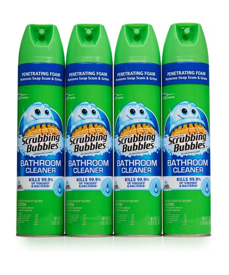 Scrubbing Bubbles Fresh Scent Bathroom Cleaner Set Of Four
