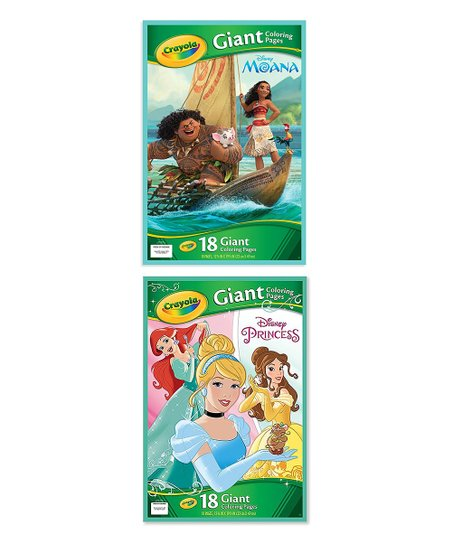 Crayola Moana Giant Coloring Pages Disney Princess Giant Coloring