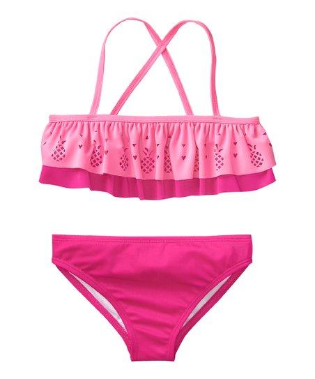 a7c5ffea078b5 love this product Pink Tier Bikini - Toddler & Girls