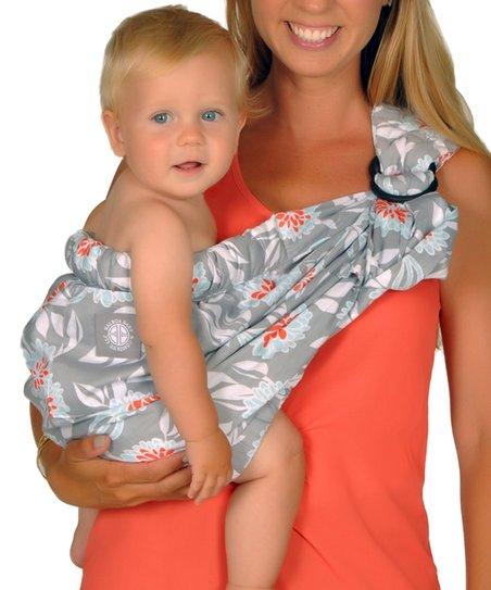 39983a19f2e Balboa Baby Gray Dahlia Adjustable Sling
