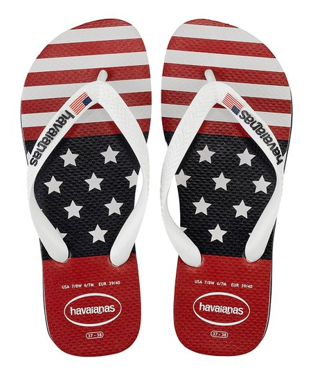 c3210ed59b52 love this product Navy Blue Top USA Stars   Stripes Flip-Flop - Men