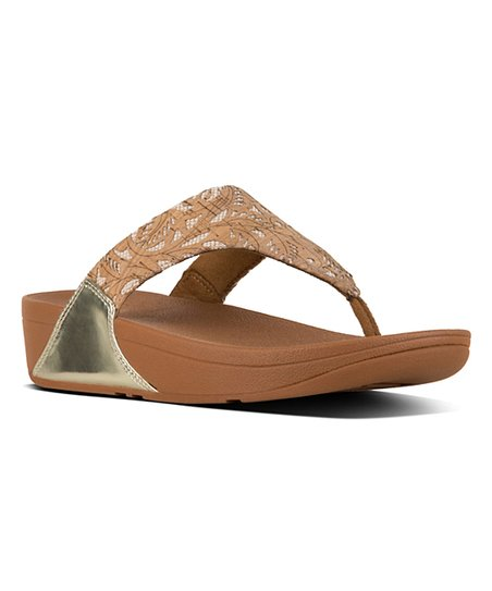 ee24cfec0f55 love this product Cork   Gold Mirror Lulu Toe-Thong Sandal - Women