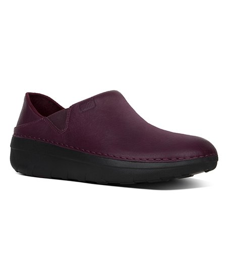 e28428fbdec FitFlop Deep Plum Superloafer Leather Loafer - Women