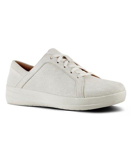 7b1c6fdd8d52 love this product White Shimmer Denim F-Sporty II Sneaker - Women