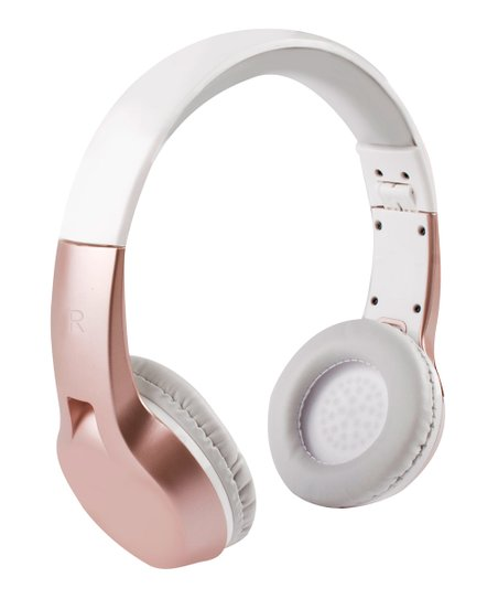 193bef407c9 love this product Rose Gold Get Loud Bluetooth Headphones
