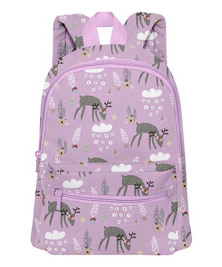 26c113caebba love this product Pink   Purple Deer Mini Backpack