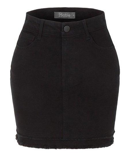 ac5c1f55fa5 love this product Black Denim Mini Skirt - Women