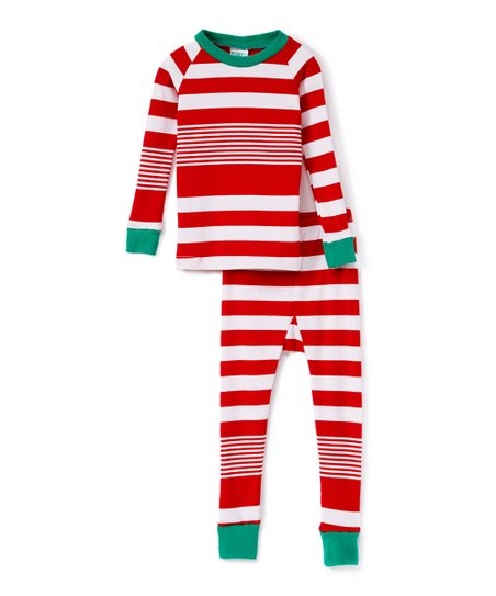 Love This Product Red Green White Stripe Pajama Set Infant Toddler Kids