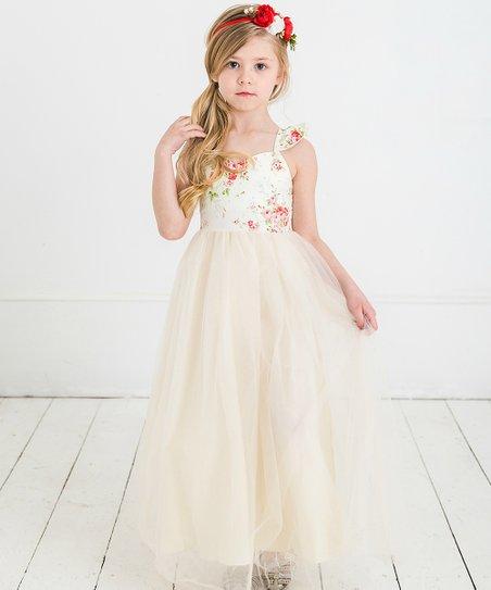Ivory Easter Dress