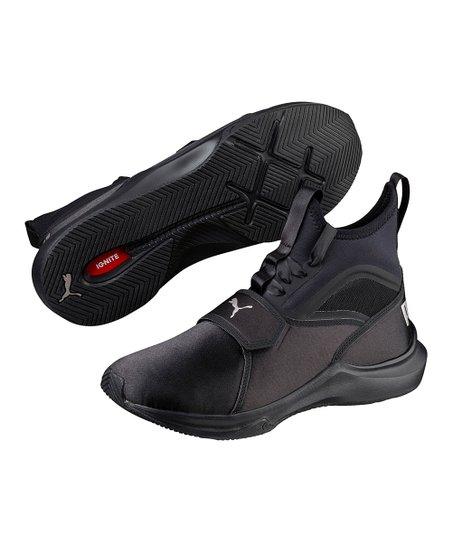 172d03afd81 PUMA Black Phenom EP Satin Training Shoe - Women