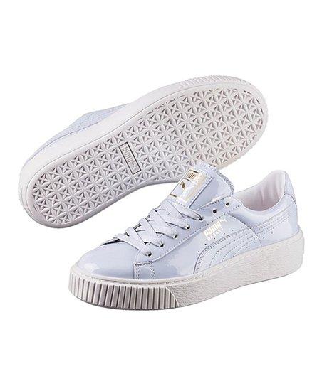 b1604b058fb9 PUMA Halogen Blue Patent Basket Platform Sneaker - Women