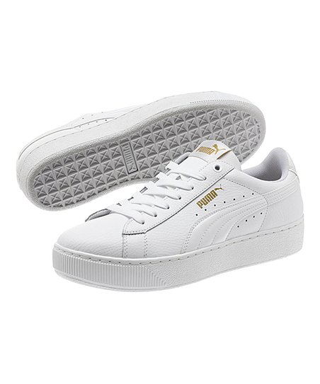382ea756bc82 love this product White Vikky Platform Leather Sneaker - Women