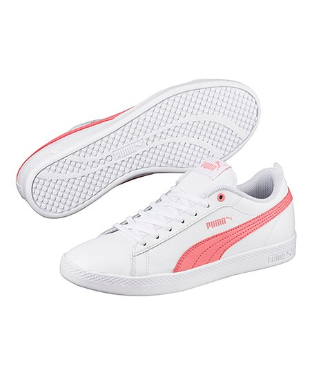 love this product White   Shell Pink Smash v2 Leather Sneaker - Women 26545ff3b