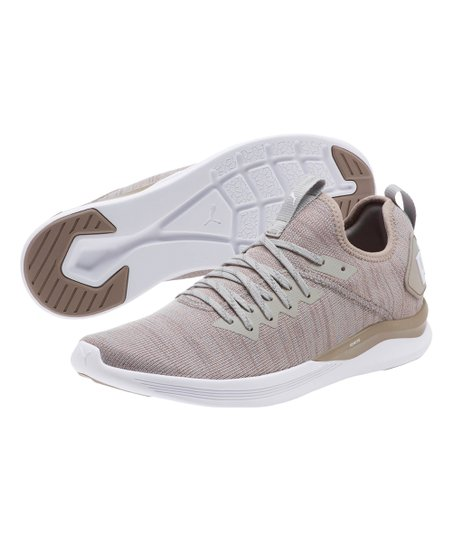 huge discount a20a1 20588 PUMA Rock Ridge & White IGNITE Flash evoKNIT Training Shoe - Men