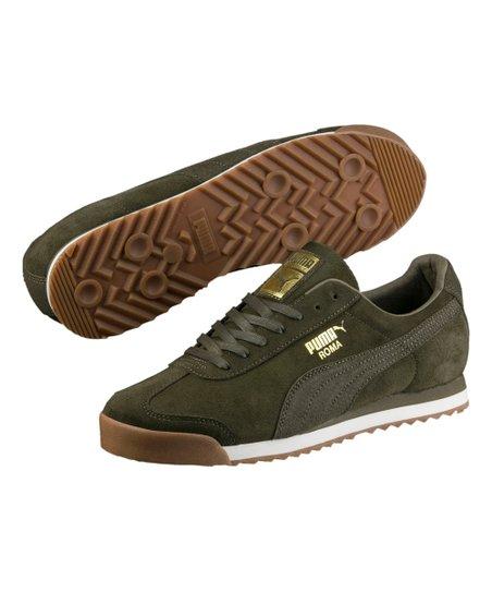 11fbb03bfc9c3a PUMA Birch   Whisper White Roma Natural Warmth Suede Sneaker - Men ...