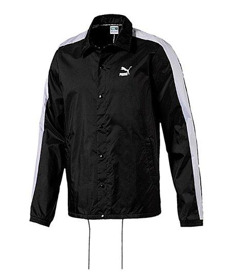 b5ae32d58b4d PUMA Black Archive Coach Jacket - Men