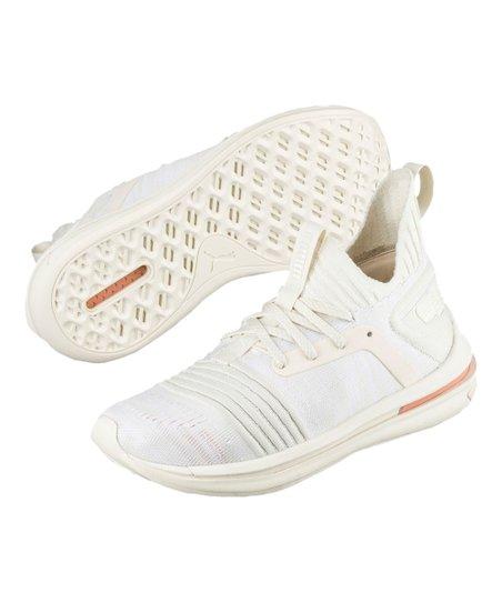 huge discount 7cbf6 ebb7e PUMA Whisper White & Muted Clay Ignite Limitless SR evoKNIT Sneaker - Kids