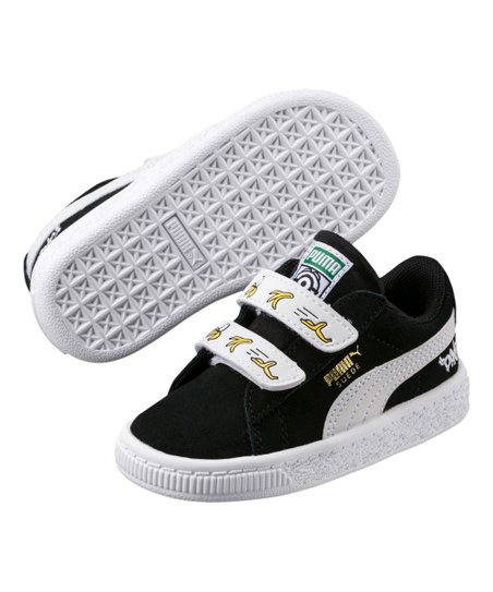 PUMA Black   White Minions V Suede Sneaker - Boys  a398a283a
