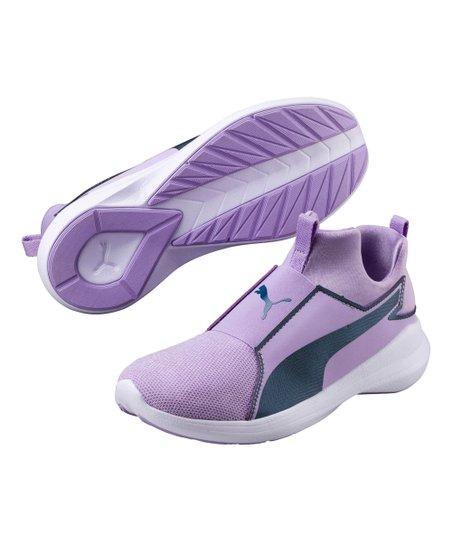 PUMA Kids Rebel Mid Gleam Sneaker
