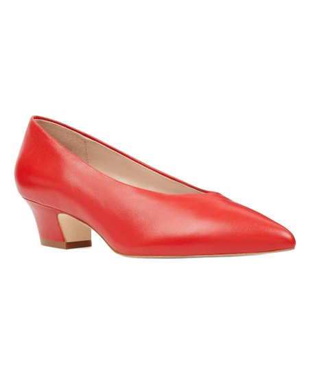 dc76a406dfd7 love this product Red Kendra Leather Pump - Women