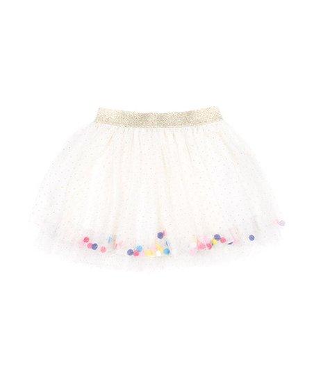 e1fa8d49eac Betsey Johnson Kids Ivory Confetti Tutu Skirt - Toddler