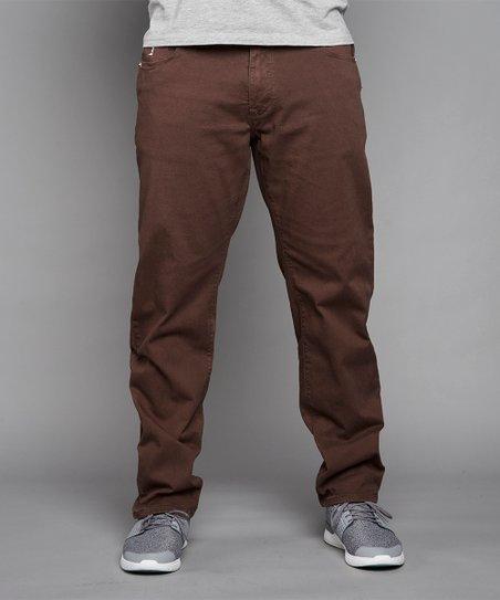 91a2eec0b4a2 North 56°4 Brown Straight-Leg Jeans - Men & Big | Zulily