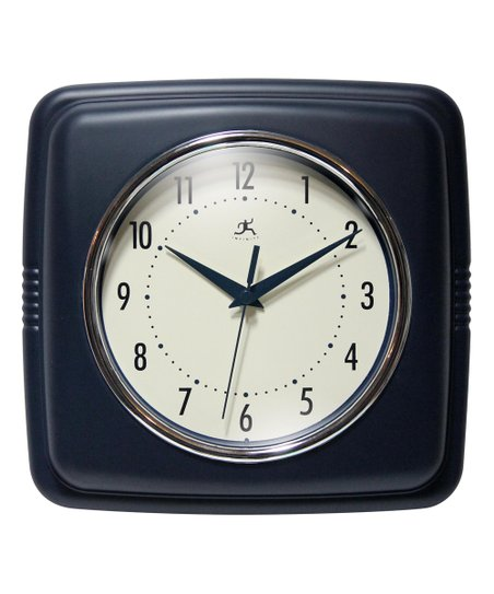 Love This Product Sailor Blue Square Retro Wall Clock
