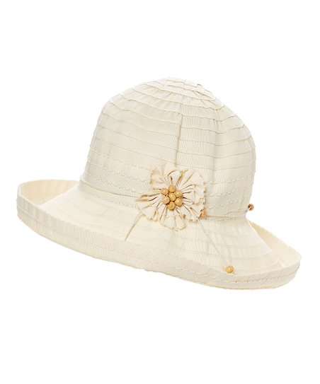 d4b62703758 love this product Cream Flower Bucket Hat