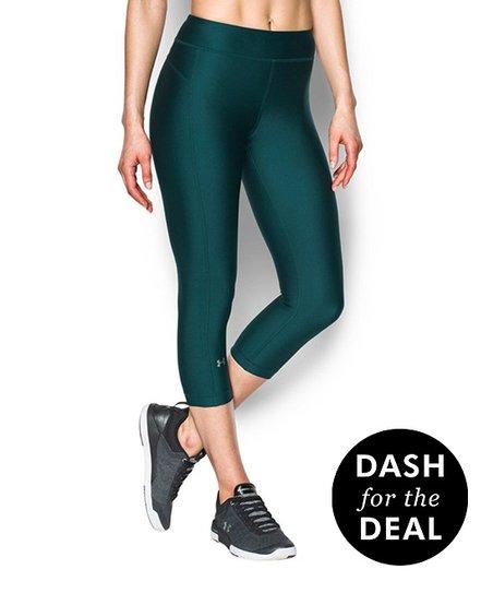 716abe85607d0 Under Armour® Arden Green UA HeatGear® Armour Capri Leggings - Women