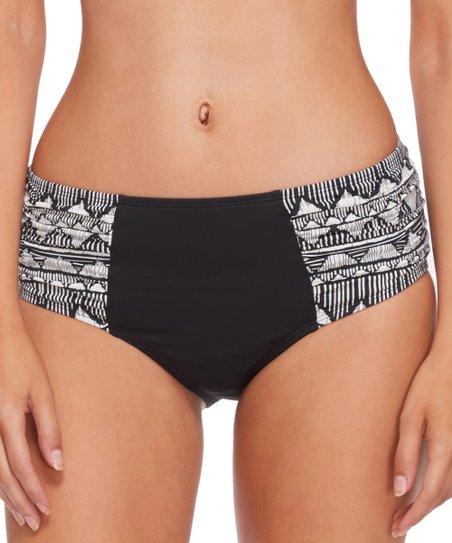 7fae4d00f9 Skye Black Hilo Alessia Bikini Bottoms - Women | Zulily
