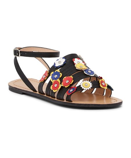 a278728768a7 Chase   Chloe Black Happy Sandal - Women
