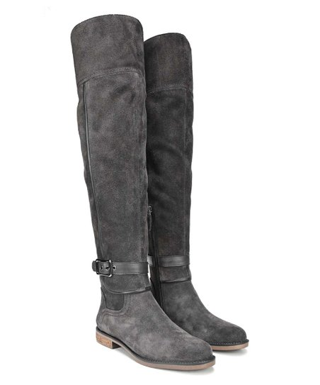 94ea50fa9093 love this product Peat Crimson Wide-Calf Over-the-Knee Suede Boot - Women