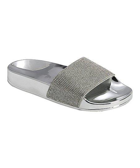 f3013e57346de love this product Silver Stun Slide - Women