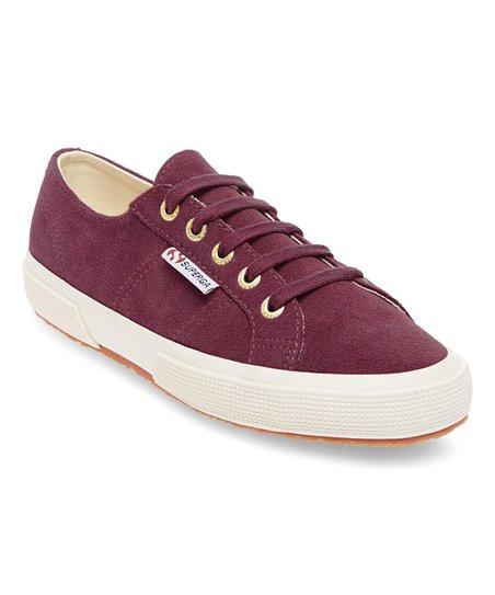 Superga Bordeaux Suede Sneaker - Women  6d897b76d