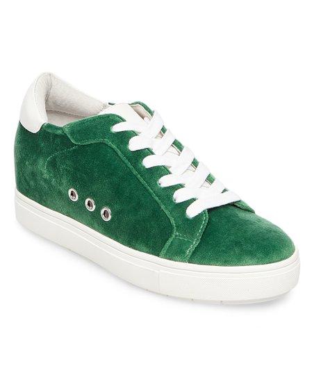 55fde07809f Steve Madden Green Steal Velvet Sneaker - Women